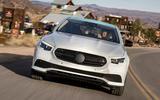 Mercedes-Benz E-Class 2020 prototype ride - tracking nose