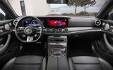 Mercedes-Benz E-Class coupe 2020 facelift - official images - interior