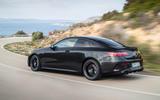 Mercedes-Benz E-Class coupe 2020 facelift - official images - rear