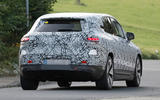 97 Mercedes EQE SUV spies Oct 2021 rear