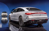 97 Mercedes EQS official reveal images rear