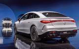 97 Mercedes EQS official reveal images rear
