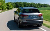 Mercedes-Benz GLA 250e 2020 prototype drive - hero rear