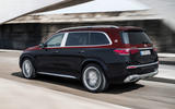 Mercedes-Maybach GLS 600 official press images - hero rear