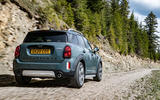 Mini Countryman 2020 facelift - official press images - hero rear