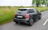 97 Mini JCW anniversary official images tracking rear