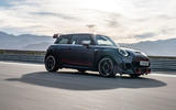 2020 Mini JCW GP first ride - tracking side