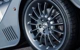 Morgan Plus Six 2019 official press images - alloy wheels