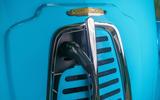 Morris JE electric van official images - charging port