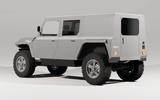 97 Munro EV electric vehicle render official silver rear