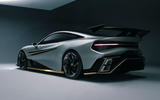 Naran Automotive hypercar official reveal - hero rear