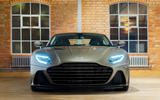 Aston Martin On Her Majesty's Secret Service Superleggera - nose