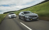 97 PHEV wagons triple test 2021 tracking pair front