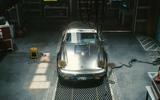 Porsche 911 Cyberpunk 2077 tie-in - nose