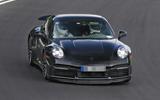 97 Porsche 911 Turbo hybrid spies 2