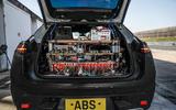 97 Porsche Macan EV official test images equipment