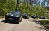 97 Porsche Macan GTS 2021 prototype drive convoy