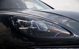 Porsche Macan prototype 2018 disguised headlights