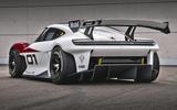 97 Porsche Mission R concept feature rear