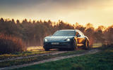 97 Porsche Taycan Cross Turismo prototype drive mud