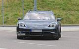Porsche Taycan Cross turismo spy images - nose