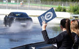 Porsche Taycan breaks electric drift record - official images - Guinness