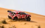 Prodrive BRX T1 in the desert - hero rear