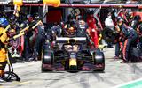97 Red Bull pit lane