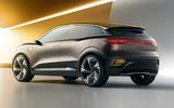 Renault Megane eVision concept official images - studio rear