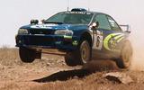 97 Safari rally classic Subaru