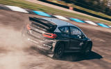 97 STARD ERX rallycross fiesta drive 2021 hero rear