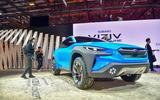 Subaru Viziv Adrenaline concept Geneva 2019 - angle