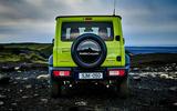 Suzuki Jimny 2018 first drive review static boot
