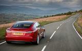 Tesla Model S - car of the decade - rear