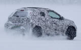97 Toyota Aygo camo spy images rear