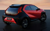 97 Toyota Aygo X Prologue 2021 concept official images rear