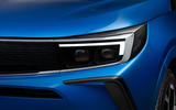 97 Vauxhall Astra 2021 teaser images headlights