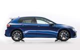 Volkswagen Golf R 2020 official reveal - studio side