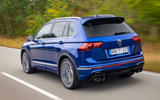 97 Volkswagen Tiguan R 2021 official images tracking rear