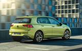 2020 Volkswagen Golf Mk8 official press - hero rear