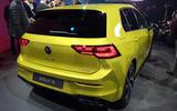 2020 Volkswagen Golf mk8 official reveal - rear