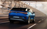Volkswagen ID 4 official images - tracking rear