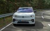 2021 Volkswagen ID 4 prototype drive - hero nose