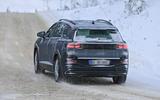 96 VW ID 7 spies winter 2020 back
