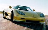 World's fastest production cars - Koenigsegg CCR
