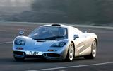 McLaren F1 - tracking front