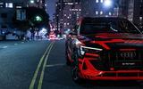 Audi E-tron Sportback prototype matrix headlights - headlight details