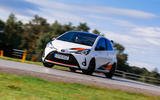 2019 Wales Rally GB preview in a Yaris GRMN - on track
