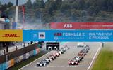 98 Alex Lynn Mahindra Formula E 2021 grid