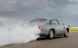 Aston Martin DB5 Goldfinger Continuation smoke screen